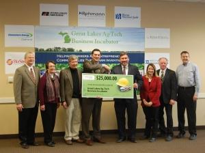 Ottawa County ag-tech incubator secures $25K from Consumers Energy