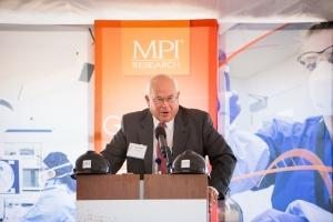 MPI's William Parfet expects his company's new Imaging Center will be able to set a new standard in the speed of drug research.