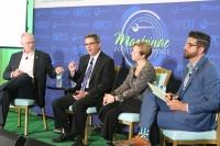Panelists at the Mackinac Policy Conference in late-May discuss the challenges — and solutions — to properly funding Michigan's cities.