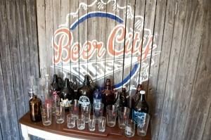 Beer City Glass in the city of Wyoming screen-prints glass growlers sold at many of the microbreweries in West Michigan, but orders from national and international customers have also been on the rise in recent years.