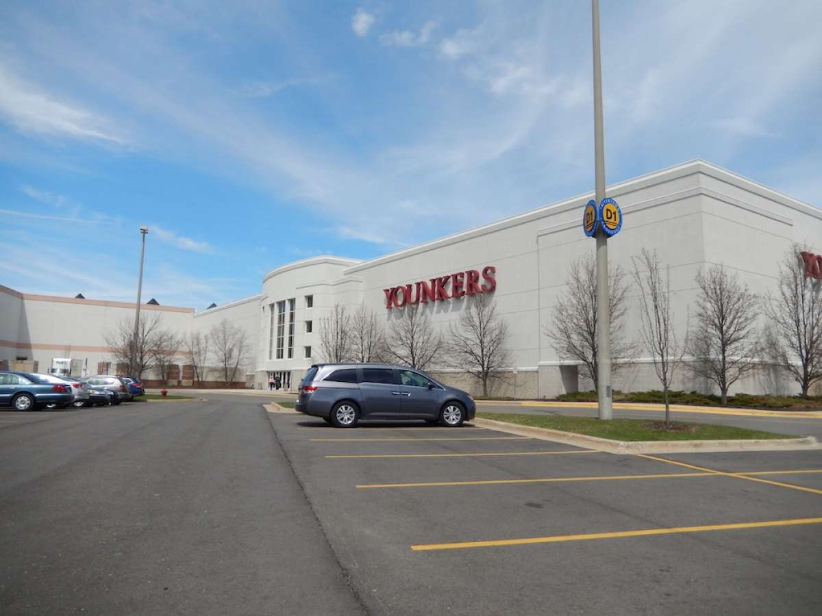 Younkers store at RiverTown Crossings in Grandville.