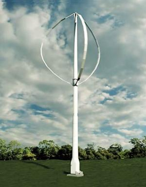 Clean Green Energy LLC recently secured $25 million in funding to launch production and distribution of its Wind•e20 vertical axis wind turbine.