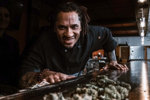 Chef Nigel Douglas of Michigan Cannabis Chefs LLC says marijuana has many possible uses in cooking. The company is offering ticketed events in the Muskegon area and private catering featuring marijuana-infused foods.