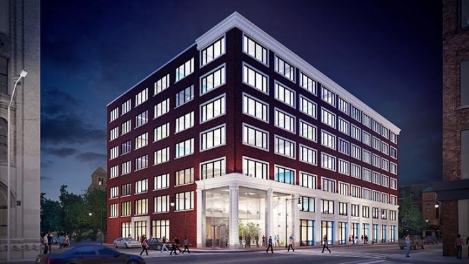 Despite some fears the West Michigan commercial real estate boom could come to an end, executives at developer Franklin Partners LLC believe there's still room for growth. The firm has announced early plans to renovate the interior of the long-vacant Keeler Building at 56 N. Division Ave. in downtown Grand Rapids, where it hopes to attract ground-floor retail tenants and office users with up to 1,200 workers.