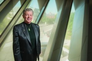 CRYSTAL BALL: Lou Anna Simon, president, Michigan State University