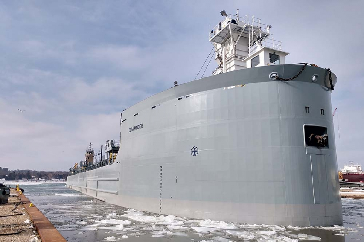 Muskegon marine transporter invests more than $40 million to