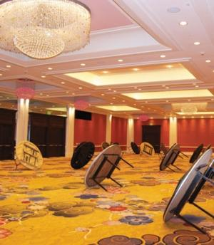 Amway goes glam in renovating hotel ballroom