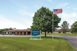 The Meadowlark Retirement Village is one of nine senior living campuses operated by Porter Hills Presbyterian Village Inc., which this month finalized an affiliation with Chelsea-based United Methodist Retirement Communities Inc.