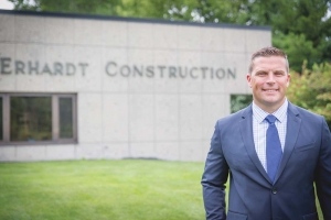 Ben Wickstrom, president and CEO of Erhardt Construction