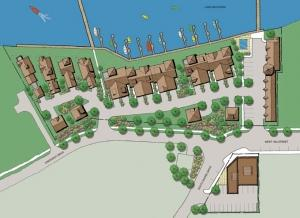 Officials in Holland city government say an environmental site assessment grant from the Ottawa County Brownfield Redevelopment Authority provided a key piece of funding that could help the city to expand its pedestrian promenade that's expected to act as a catalyst for a planned mixed-use development at Crescent Shores Marina.