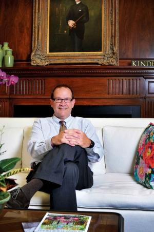 Rob Burch, CEO of Kindel Furniture Co.