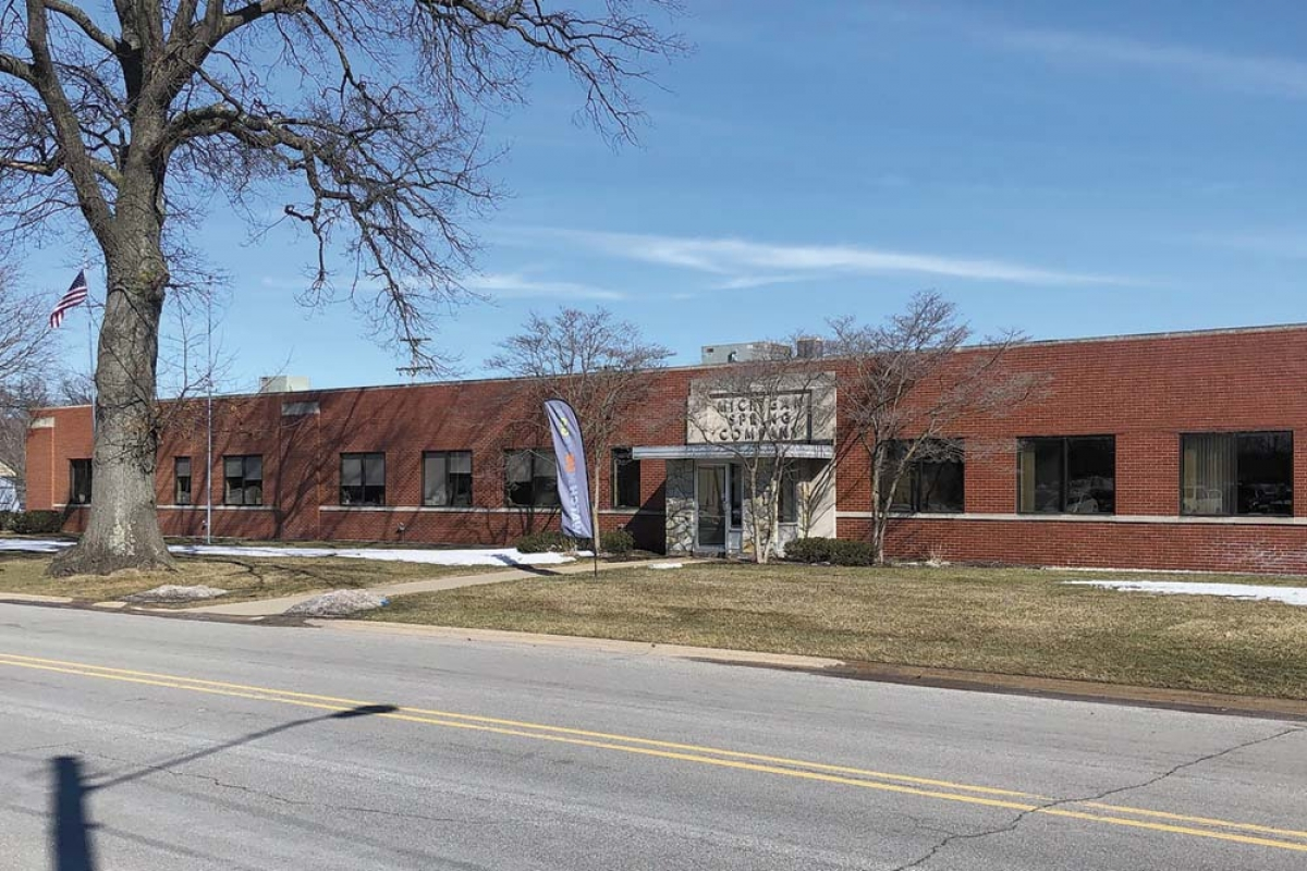 Muskegon-based Michigan Spring & Stamping LLC is now owned and operated by Kern-Liebers, a Germany-based family-owned precision manufacturer. Hines Corp. sold the company in a deal that closed Feb. 28.