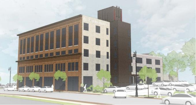 616 Development Plans Mixed Use Project Along Wealthy