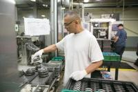 General Motors Components Holdings will invest $119 million in tooling and equipment at its Wyoming, Mich. plant and add 300 new jobs. The plant makes valve train components for GM vehicles.