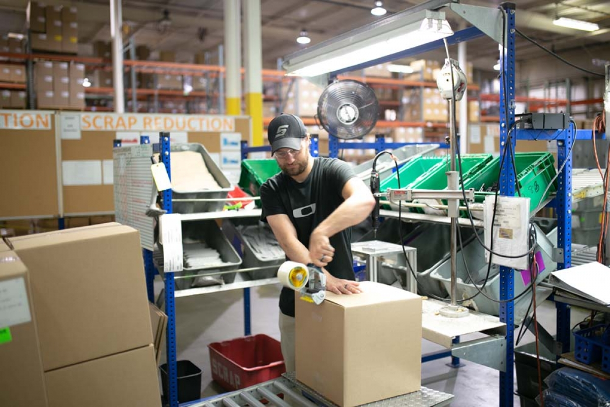 Grand Haven-based Anderson Technologies invested $2.5 million in new high-tech plastic injection molding machines that also are more energy efficient and expand the company's capabilities.