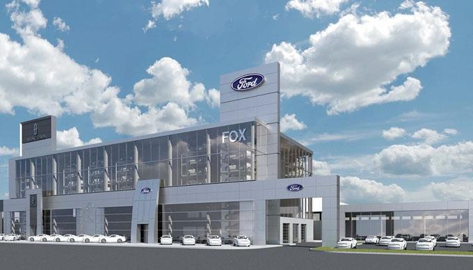fox motors taps triangle to build chicago dealership. Black Bedroom Furniture Sets. Home Design Ideas