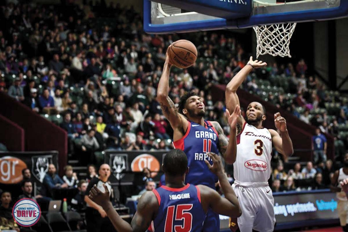 The Grand Rapids Drive just completed its fifth season of play.