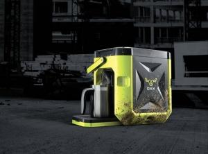 Grand Rapids-based Oxx LLC's first product, Coffeeboxx, is a crush-proof, dust-proof and waterproof single-serve coffeemaker.
