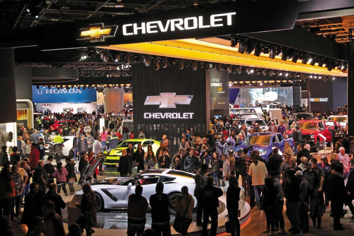 For 2020, the North American International Auto Show in Detroit moves to June, rather than early January.