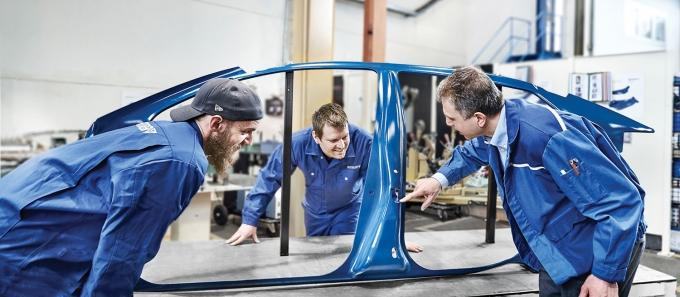 Benteler Automotive Corp., an automotive supplier with locations across West Michigan, looks to identify seven students to join its apprenticeship program for maintenance technicians. The company also takes a proactive approach to talent by participating in various recruitment fairs around the state.