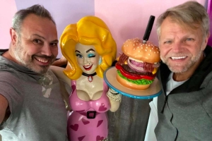 Hamburger Mary's owners (left to right) Doug Hanchett and Tom Zarkowski.