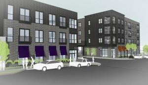 New mixed-use development breaks ground on Michigan Street buildings