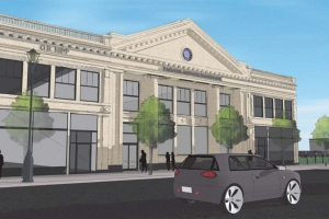 Two Grand Rapids-based firms, Lott3Metz Architecture LLC and Rockford Construction Co. Inc., worked on a facade improvement project at the Farmers & Merchants Bank building at 92 W. Main Street in Benton Harbor.