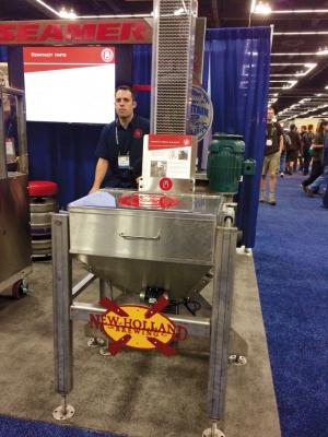 Many of the more than 600 exhibitors displayed full manufacturing systems at the BrewExpo America trade show, held in conjunction with the 2015 Craft Brewers Conference in Portland, Ore. earlier this month.