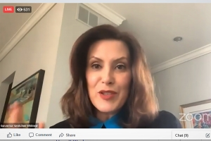 During SBAM briefing, Gov. Whitmer discusses pathway to restart state's economy
